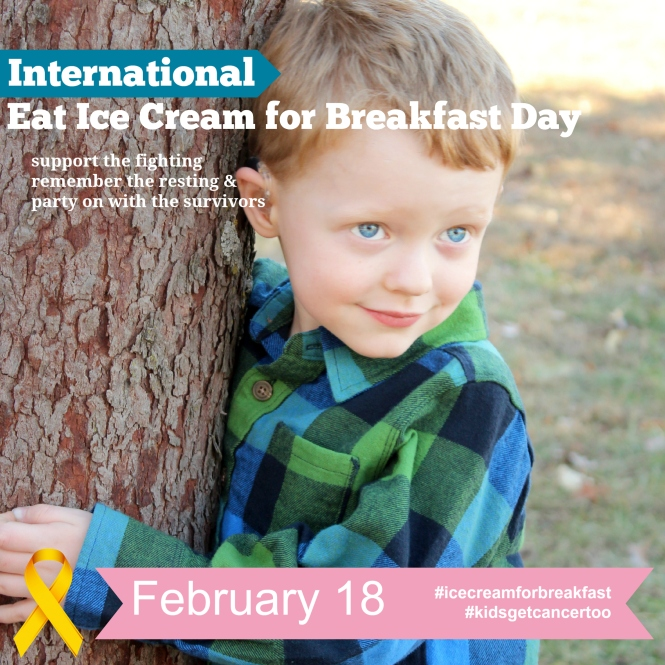 Eat Ice Cream For Breakfast Day