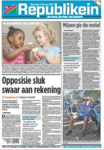 Nambia Newspaper